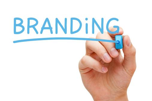 Branding Blue Marker